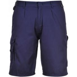 Textil Homem Shorts / Bermudas Portwest PW128 Marinha