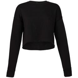 Textil Mulher Sweats Bella + Canvas BL7503 Preto