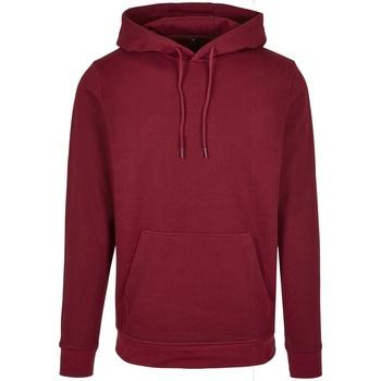 Textil Homem Sweats Build Your Brand BB001 Borgonha