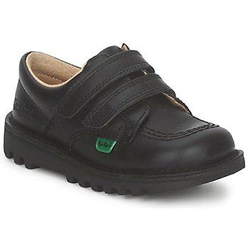 Sapatos Criança Sapatilhas Kickers KICK LO VELCRO Preto