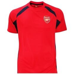 Textil Rapaz T-Shirt mangas curtas Arsenal Fc  Vermelho/preto