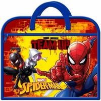 Malas Criança Pasta Spiderman  Marinha/Red