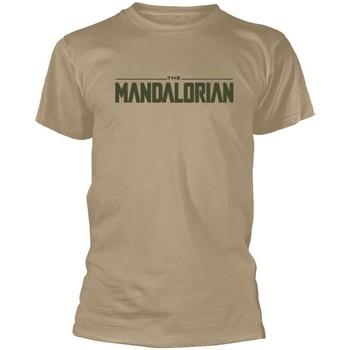 Textil T-Shirt mangas curtas Star Wars: The Mandalorian  Bege