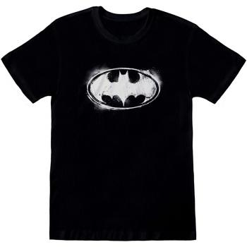 Textil T-shirts e Pólos Dessins Animés  Preto/branco