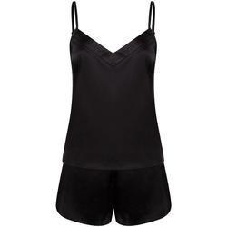 Textil Mulher Pijamas / Camisas de dormir Towel City TC057 Preto