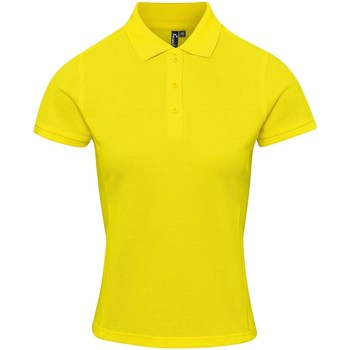 Textil Mulher T-shirts e Pólos Premier PR632 Amarelo