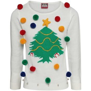 Textil Mulher Sweats Christmas Shop CJ102 Branco