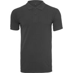 Textil Homem T-shirts e Pólos Build Your Brand BY008 Preto
