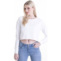 Textil Mulher Sweats Awdis JH035 Branco Ártico