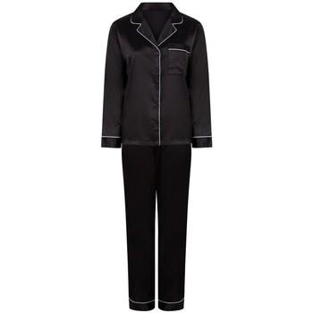 Textil Mulher Pijamas / Camisas de dormir Towel City TC055 Preto