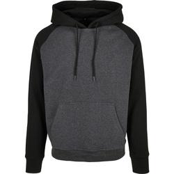 Textil Homem Sweats Build Your Brand BB005 Carvão Vegetal/Preto