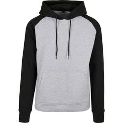 Textil Homem Sweats Build Your Brand BB005 Heather Grey/Black