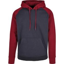 Textil Homem Sweats Build Your Brand BB005 Marinha/Burgundy