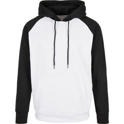 Textil Homem Sweats Build Your Brand BB005 Branco/Preto