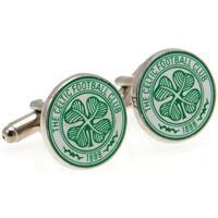 Relógios & jóias Homem Botões de punho Celtic Fc  Verde