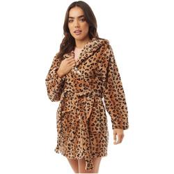 Textil Mulher Pijamas / Camisas de dormir Brave Soul  Impressão Leopardo