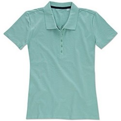 Textil Mulher T-shirts e Pólos Stedman Stars  Frosted Blue