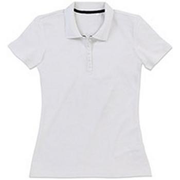 Textil Mulher T-shirts e Pólos Stedman Stars  Branco