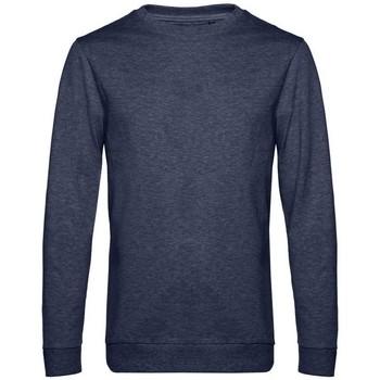 Textil Homem Sweats B&c WU01W Heather Navy