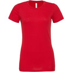 Textil Mulher T-shirts e Pólos Bella + Canvas BE6400 Vermelho