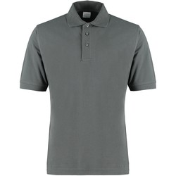 Textil Homem T-shirts e Pólos Kustom Kit KK460 Cinza Escuro