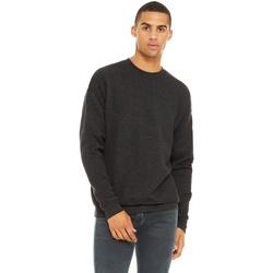 Textil Homem Sweats Bella + Canvas CA3945 Cinza Escura Heather