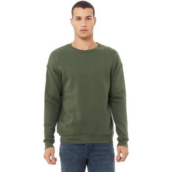 Textil Homem Sweats Bella + Canvas CA3945 Verde Militar