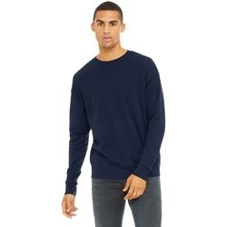 Textil Homem Sweats Bella + Canvas CA3945 Marinha