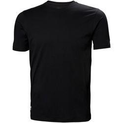 Textil Homem T-shirts e Pólos Helly Hansen 79161 Preto