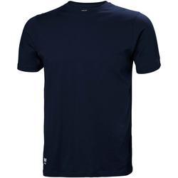 Textil Homem T-shirts e Pólos Helly Hansen 79161 Marinha