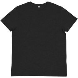 Textil Homem T-shirts e Pólos Mantis M01 Melange Cinza Carvão Vegetal