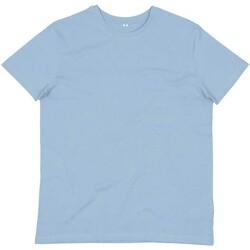 Textil Homem T-shirts e Pólos Mantis M01 Azul Céu