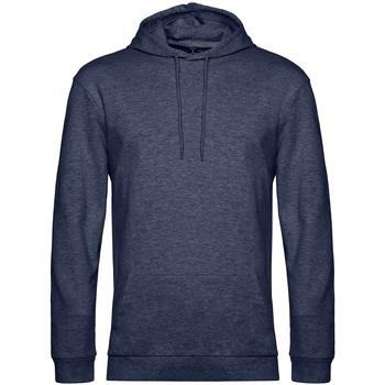 Textil Homem Sweats B&c WU03W Marinha Heather