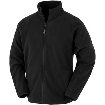 Textil Homem Casaco polar Result Genuine Recycled R907X Preto