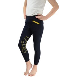 Textil Rapariga Collants Hyperformance  Marinha/Yellow