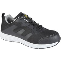 Sapatos Homem Calçado de segurança Grafters  Preto/Cinza