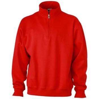 Textil Homem Sweats James And Nicholson  Vermelho