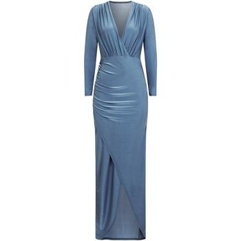 Textil Mulher Vestidos compridos Girls On Film  Azul