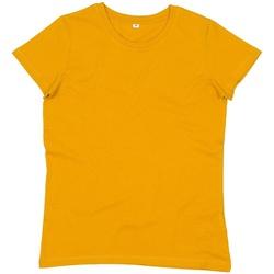 Textil Mulher T-Shirt mangas curtas Mantis M02 Mostarda