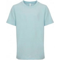 Textil Criança T-Shirt mangas curtas Next Level NX3310 Azul claro