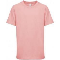 Textil Criança T-Shirt mangas curtas Next Level NX3310 Rosa claro