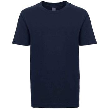 Textil Criança T-Shirt mangas curtas Next Level NX3310 Meia-noite na Marinha