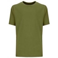 Textil Criança T-Shirt mangas curtas Next Level NX3310 Verde Militar