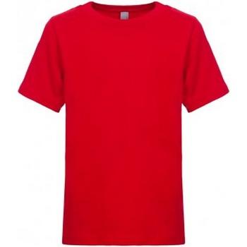 Textil Criança T-Shirt mangas curtas Next Level NX3310 Vermelho