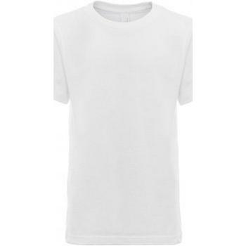 Textil Criança T-Shirt mangas curtas Next Level NX3310 Branco