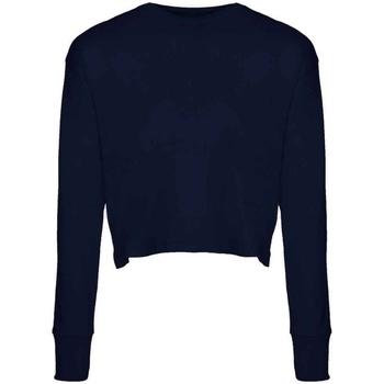 Textil Mulher T-shirt mangas compridas Next Level NX7481S Meia-noite na Marinha