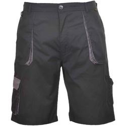 Textil Homem Shorts / Bermudas Portwest  Preto