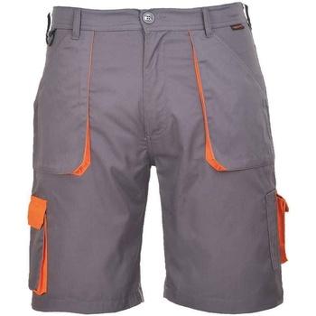 Textil Homem Shorts / Bermudas Portwest  Cinza