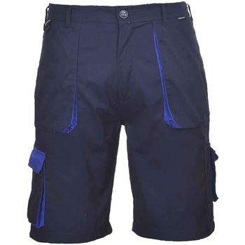 Textil Homem Shorts / Bermudas Portwest  Marinha