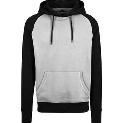 Textil Homem Sweats Build Your Brand BY077 Cinza/Preto